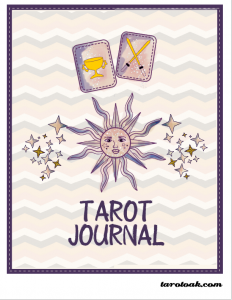 Free Printable Tarot Journal Cover