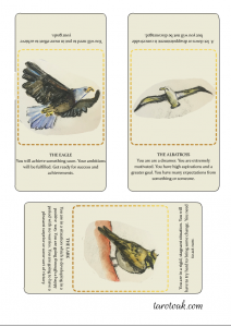 Free Printable Birds of Omen Oracle Deck