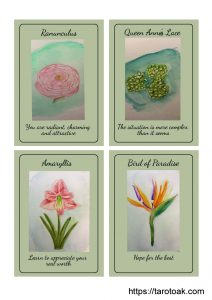 Flower Power Oracle Cards Page 3