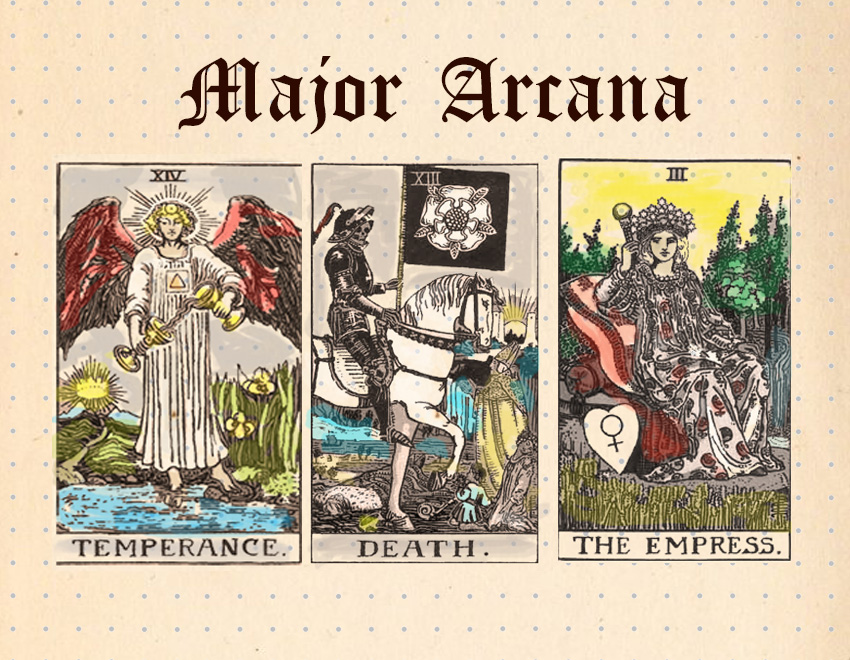 Major Arcana Tarot Card Meanings