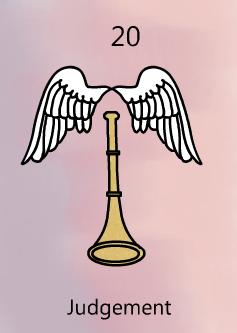 Judgement tarot birth card